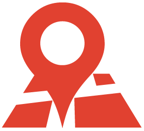 travel map icon